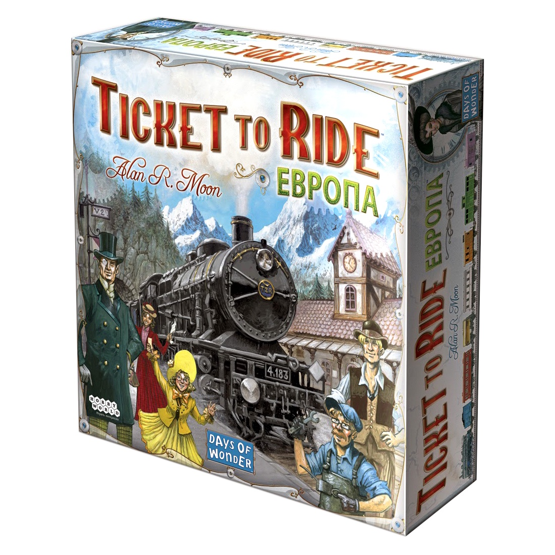 Read more about the article Ticket to Ride (БИЛЕТ НА ПОЕЗД) | Обзор настольной игры | Война Разумов